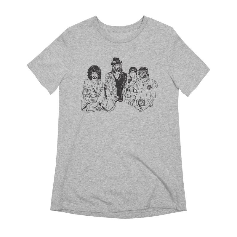 FM Women's Extra Soft T-Shirt by My Metal Hand Artist Shop