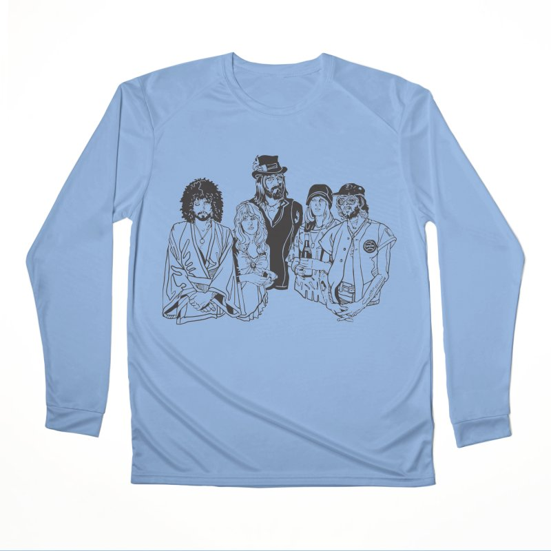 FM Men's Performance Longsleeve T-Shirt by My Metal Hand Artist Shop