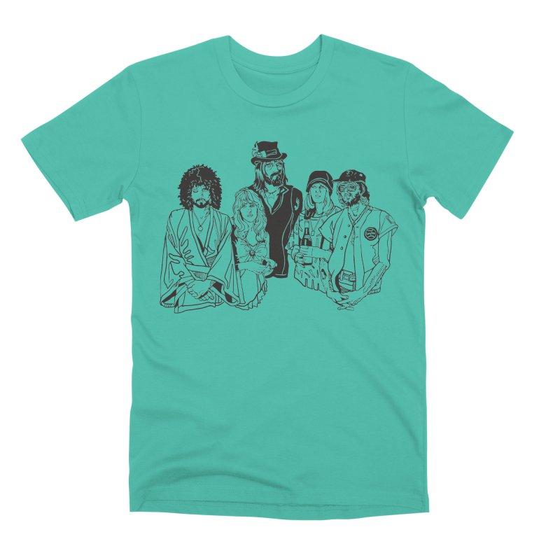 FM Men's Premium T-Shirt by My Metal Hand Artist Shop