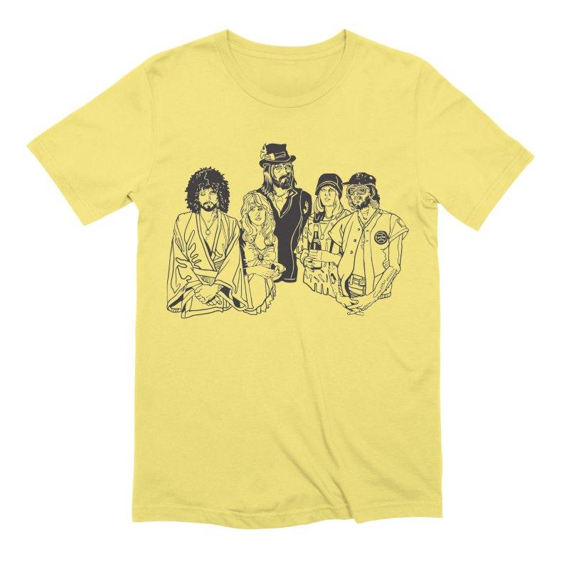 FM Men's Extra Soft T-Shirt by My Metal Hand Artist Shop