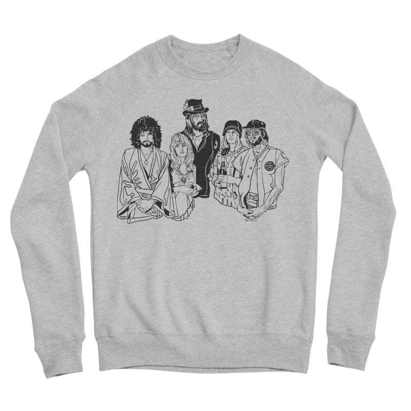 FM Women's Sponge Fleece Sweatshirt by My Metal Hand Artist Shop