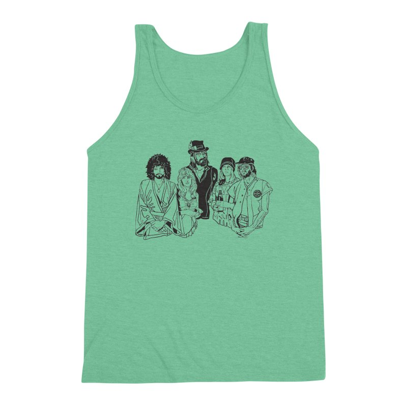 FM Men's Triblend Tank by My Metal Hand Artist Shop