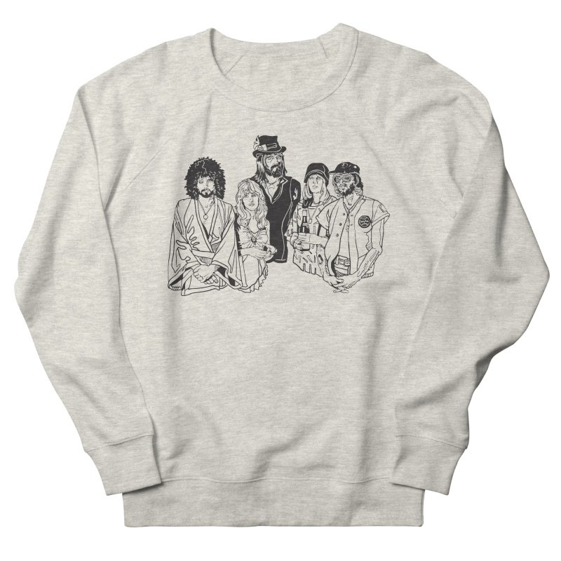 FM Men's French Terry Sweatshirt by My Metal Hand Artist Shop