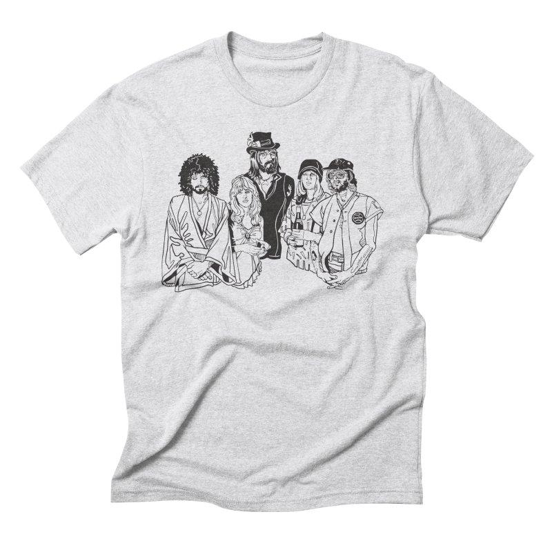FM Men's Triblend T-Shirt by My Metal Hand Artist Shop