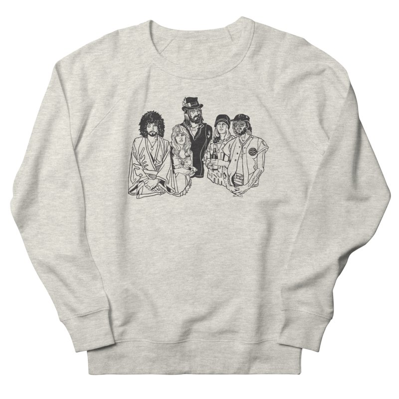 FM Men's Sweatshirt by My Metal Hand Artist Shop