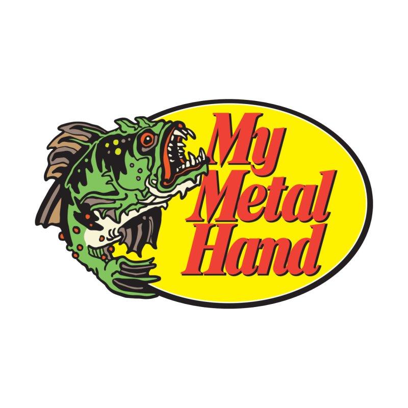 My Mutant Bass Men's Sweatshirt by My Metal Hand Artist Shop