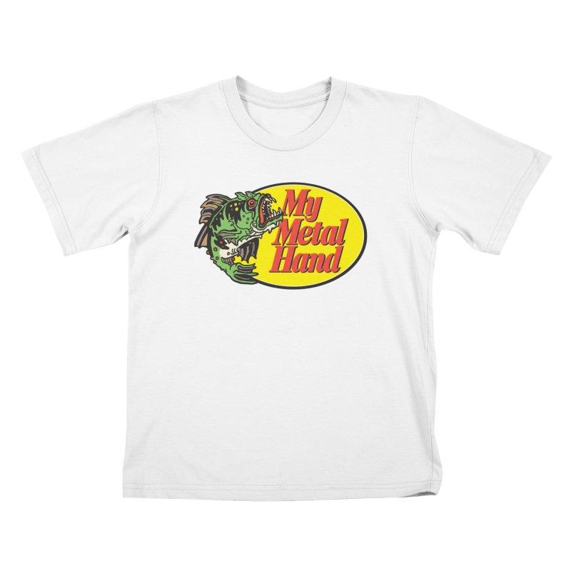 My Mutant Bass Kids T-Shirt by My Metal Hand Artist Shop