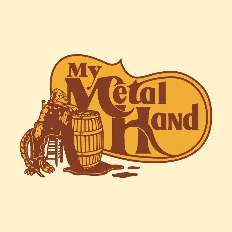 My Metal Barrel Men's Sweatshirt by My Metal Hand Artist Shop