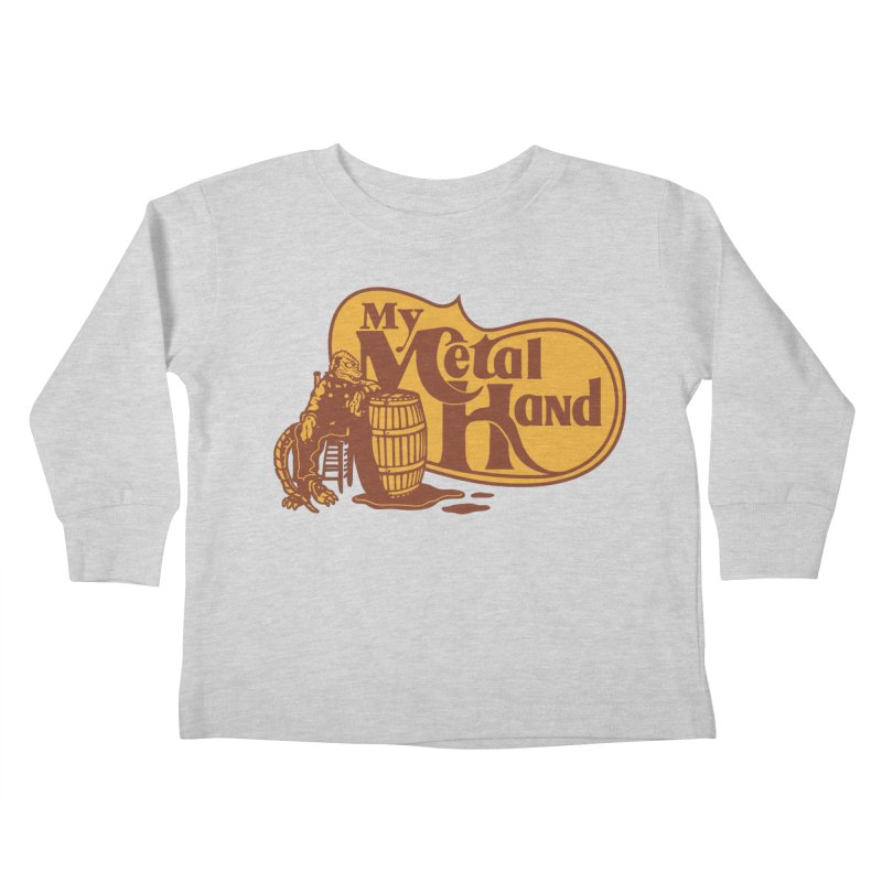 My Metal Barrel Kids Toddler Longsleeve T-Shirt by My Metal Hand Artist Shop