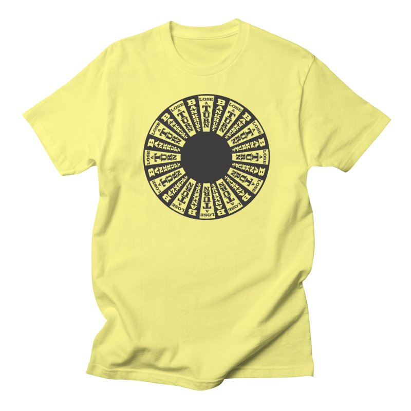 The Wheel Men's T-Shirt by My Metal Hand Artist Shop