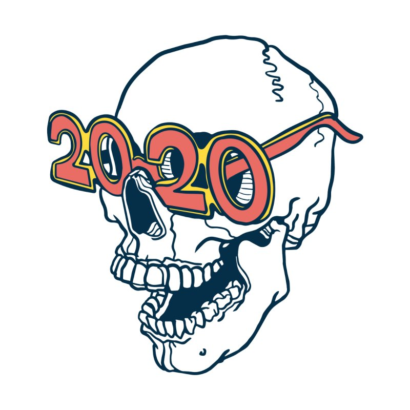 SKULL 2020 Women's T-Shirt by My Metal Hand Artist Shop