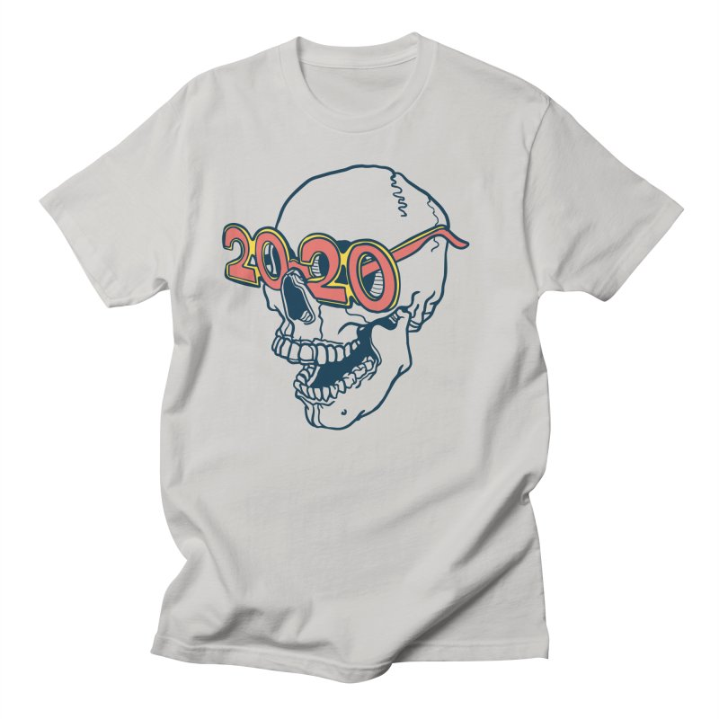 SKULL 2020 Men's T-Shirt by My Metal Hand Artist Shop