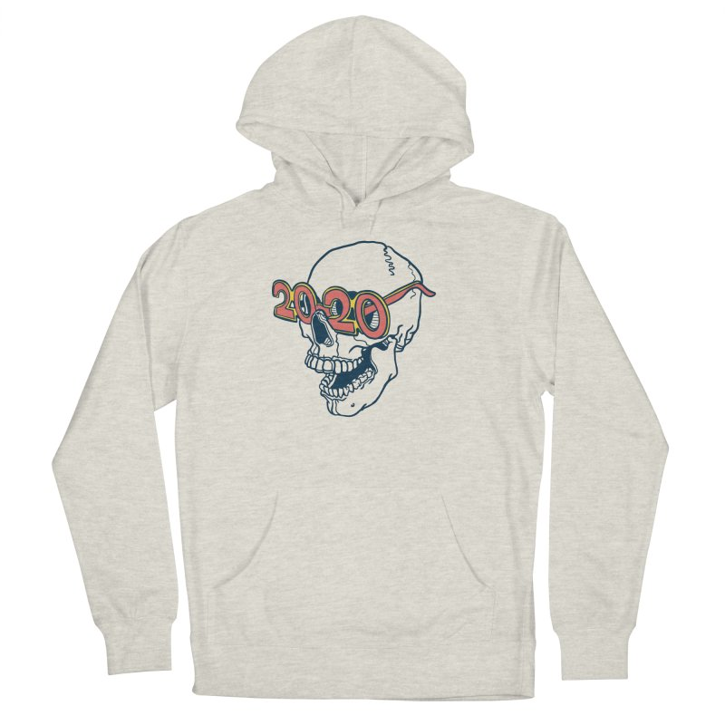 SKULL 2020 Men's Pullover Hoody by My Metal Hand Artist Shop