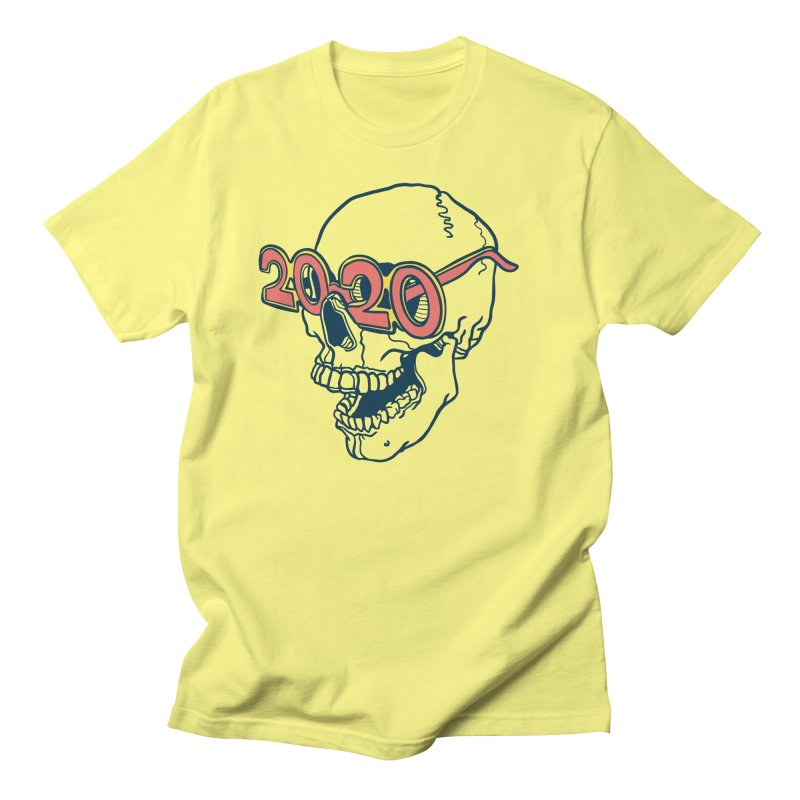 SKULL 2020 Men's T-Shirt by My Metal Hand Artist Shop