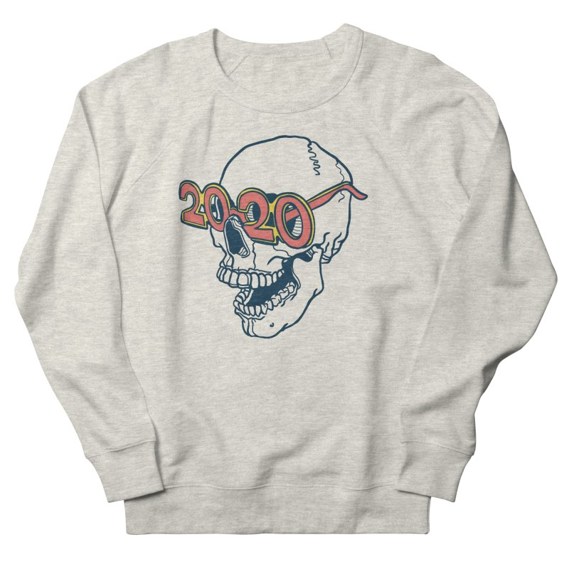 SKULL 2020 Men's Sweatshirt by My Metal Hand Artist Shop