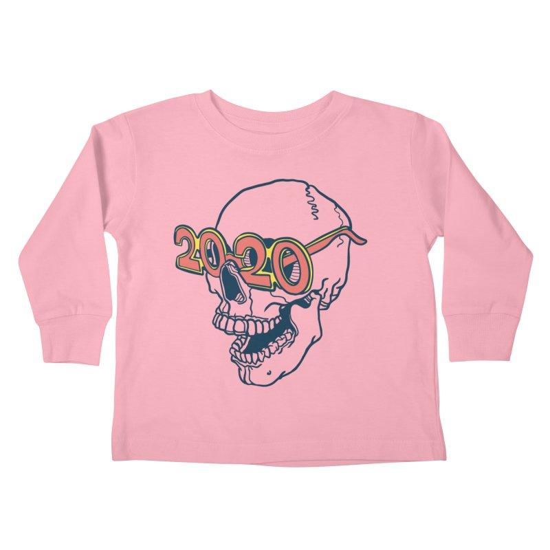 SKULL 2020 Kids Toddler Longsleeve T-Shirt by My Metal Hand Artist Shop