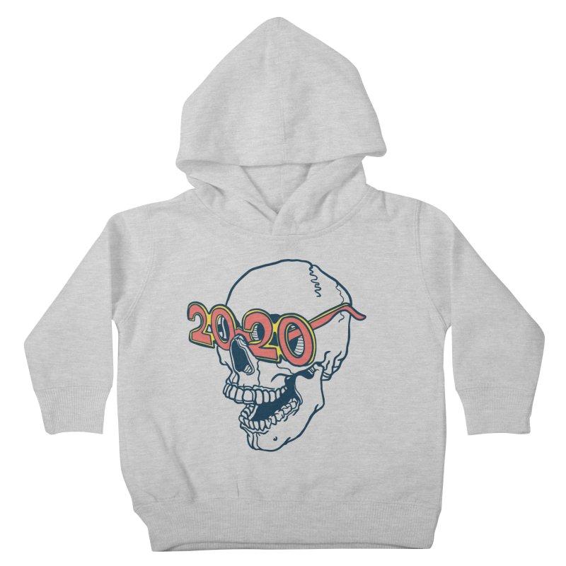 SKULL 2020 Kids Toddler Pullover Hoody by My Metal Hand Artist Shop