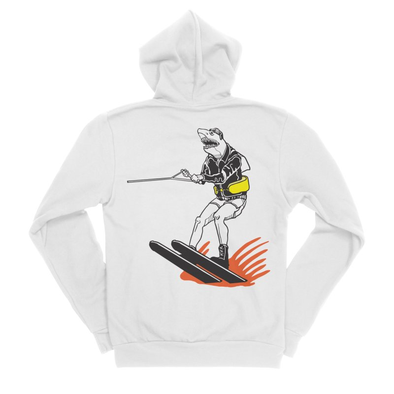 Jump The Shark That You Are Men's Zip-Up Hoody by My Metal Hand Artist Shop