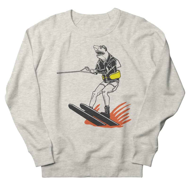 Jump The Shark That You Are Men's Sweatshirt by My Metal Hand Artist Shop