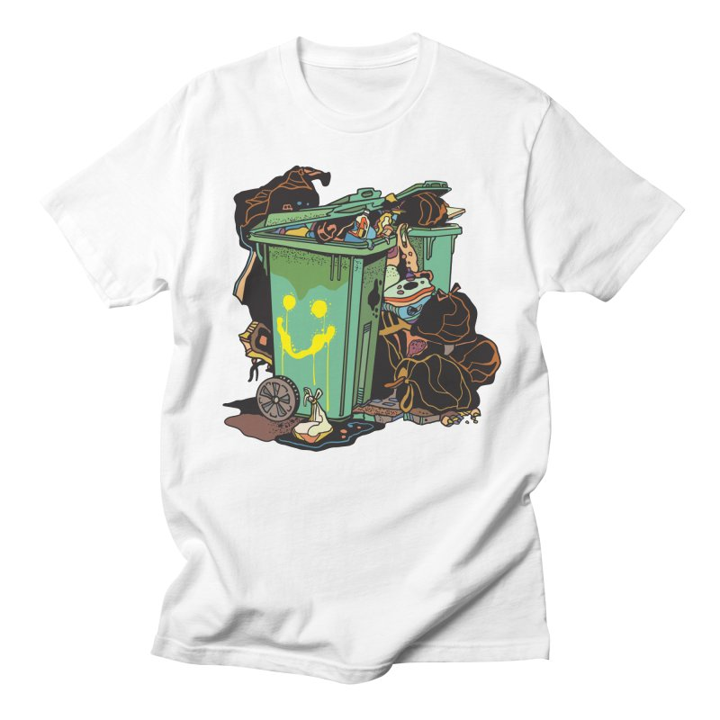 Smile Trash Men's T-Shirt by My Metal Hand Artist Shop