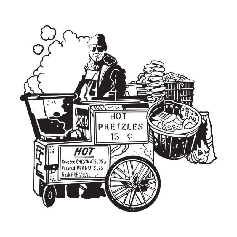 Hot Pretzles Men's T-Shirt by My Metal Hand Artist Shop