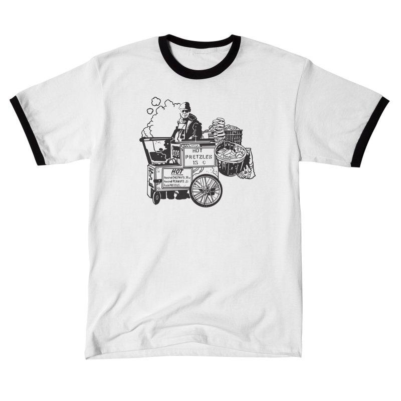 Hot Pretzles Women's T-Shirt by My Metal Hand Artist Shop