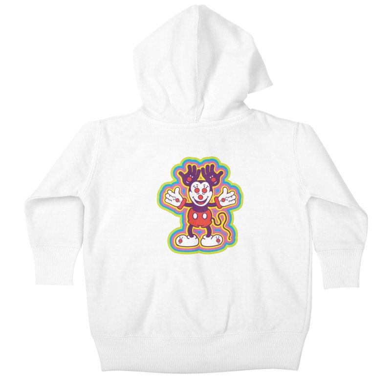 MMHH Kids Baby Zip-Up Hoody by My Metal Hand Artist Shop