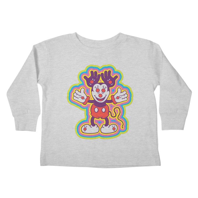 MMHH Kids Toddler Longsleeve T-Shirt by My Metal Hand Artist Shop