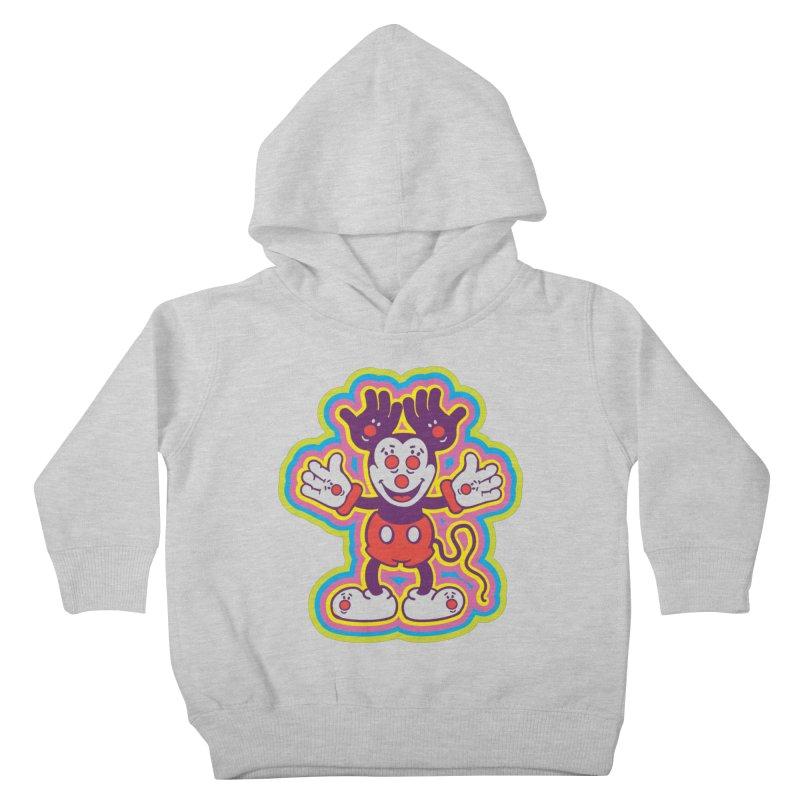 MMHH Kids Toddler Pullover Hoody by My Metal Hand Artist Shop