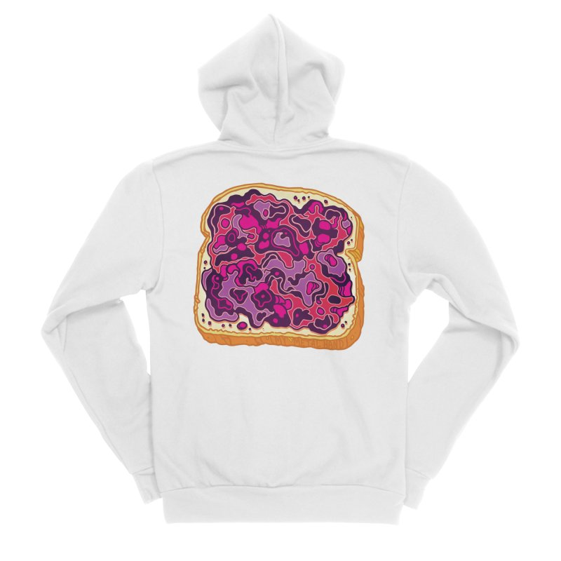 Jelly and Bread Women's Zip-Up Hoody by My Metal Hand Artist Shop