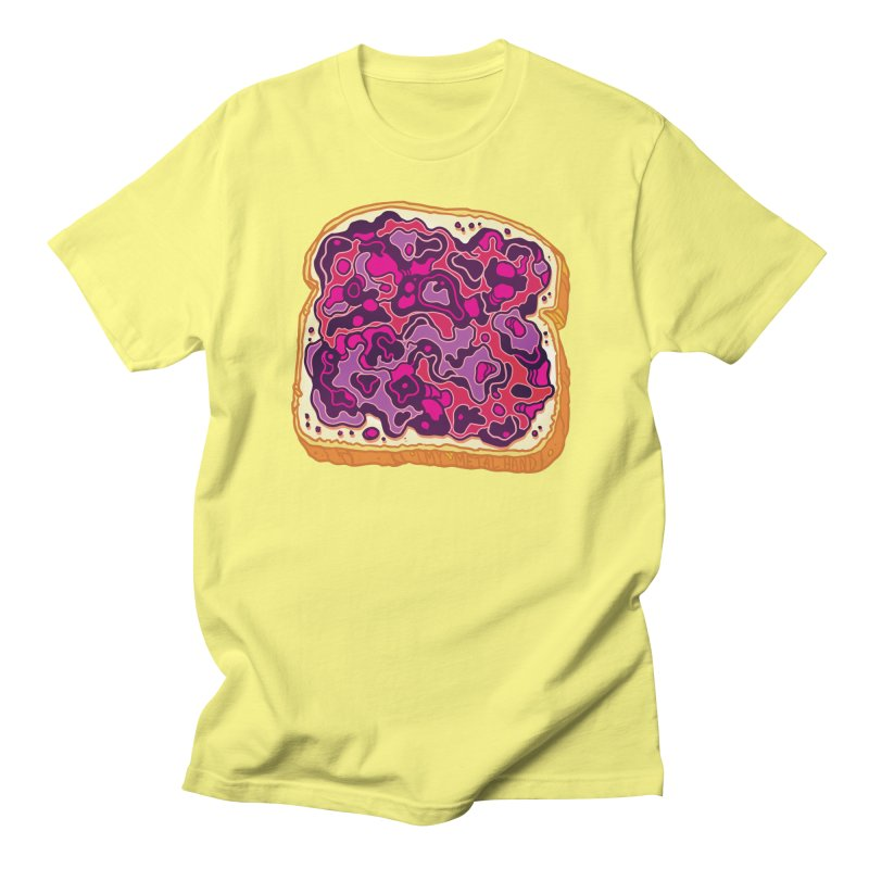 Jelly and Bread Men's T-Shirt by My Metal Hand Artist Shop
