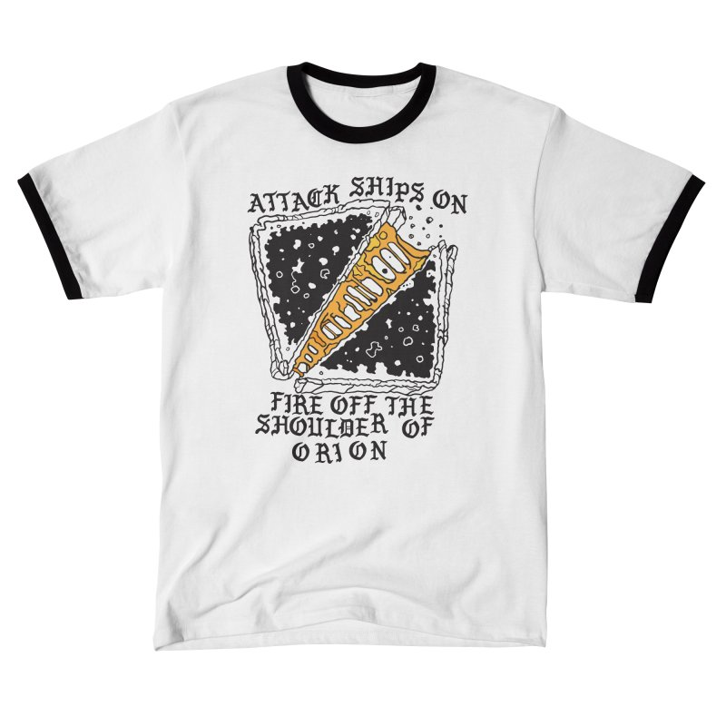 Attack Ships Grilled Cheese Women's T-Shirt by My Metal Hand Artist Shop