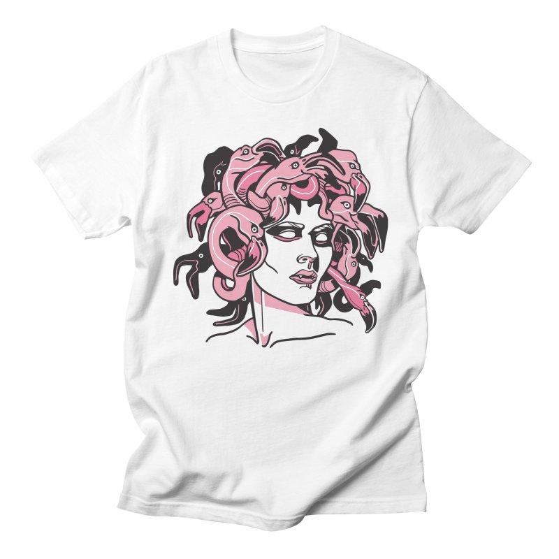 Florida Medusa Men's T-Shirt by My Metal Hand Artist Shop