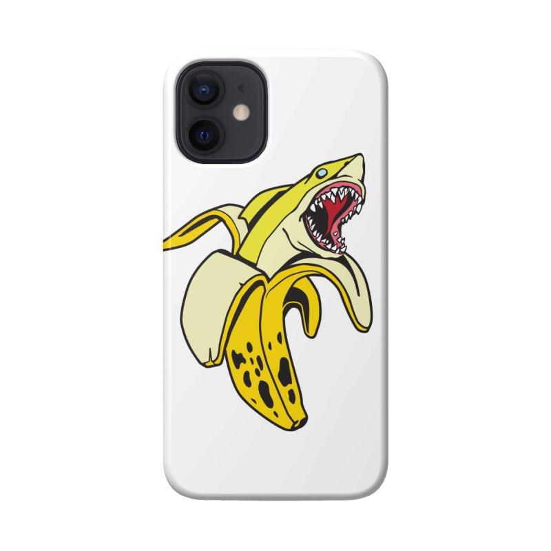 Banana Shark 1 Accessories Phone Case by My Metal Hand Artist Shop