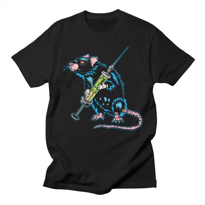 Syringe Rat Men's T-Shirt by My Metal Hand Artist Shop