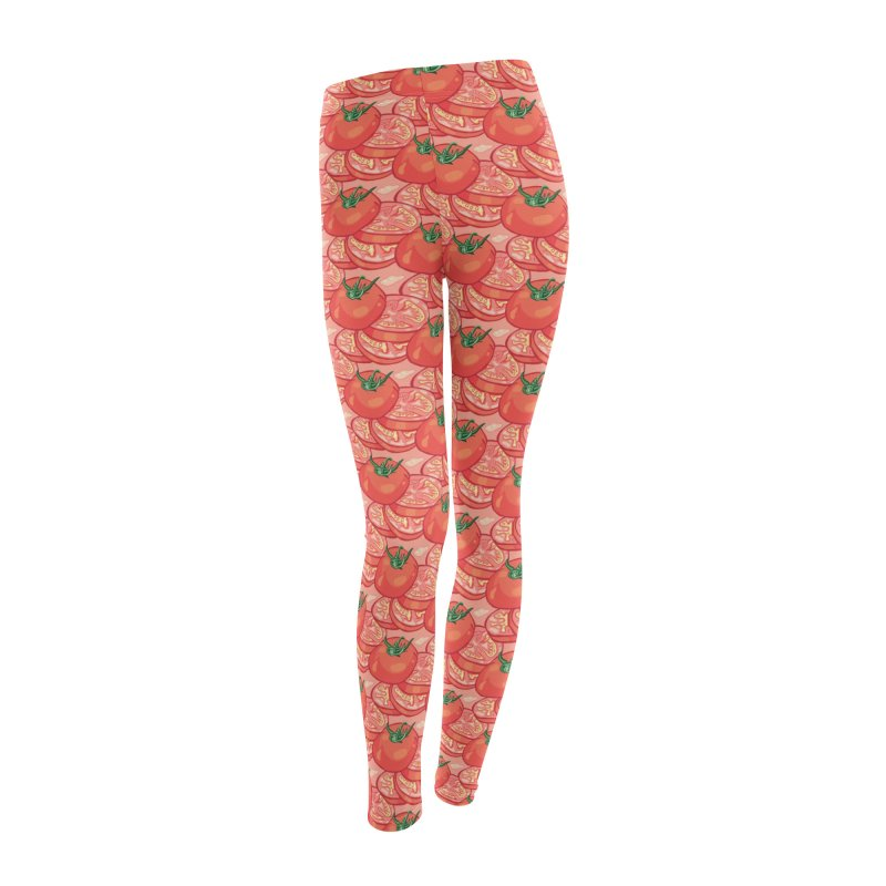 Sliced Homegrown Tomato Women's Leggings Bottoms by My Metal Hand Artist Shop