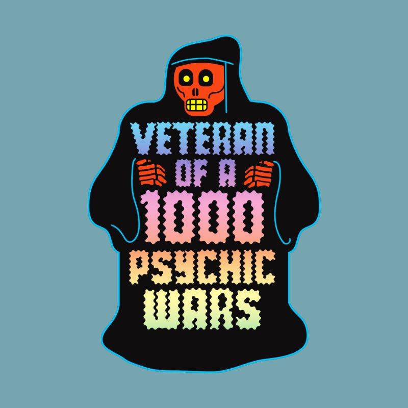 Psychic Warrior by My Metal Hand Artist Shop