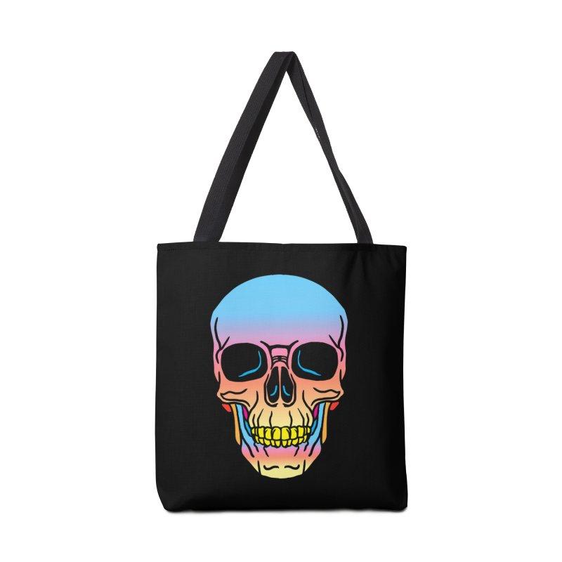 Spectrum Skull Accessories Bag by My Metal Hand Artist Shop