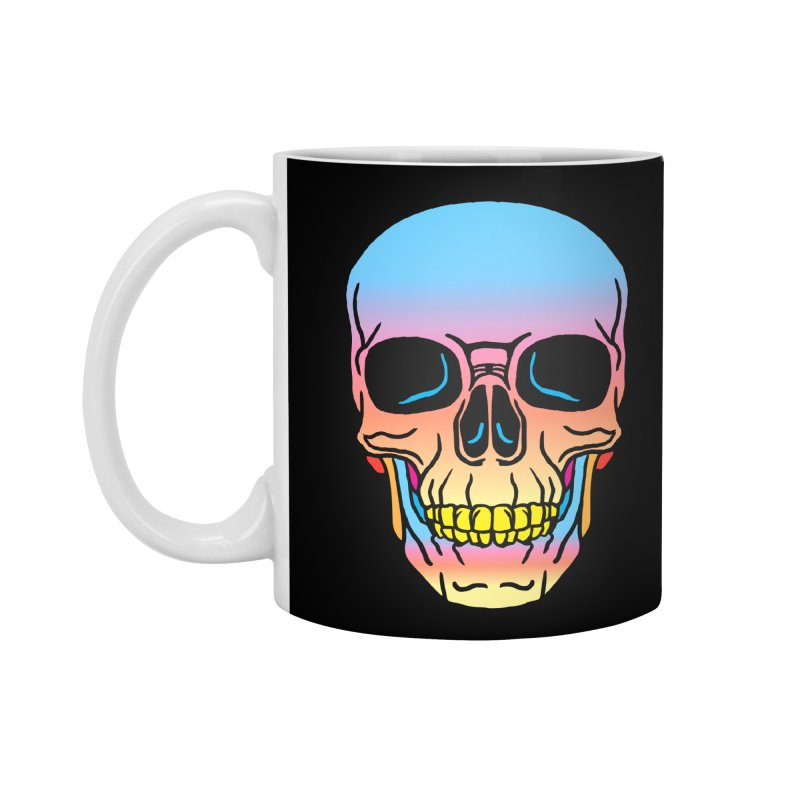 Spectrum Skull Accessories Standard Mug by My Metal Hand Artist Shop