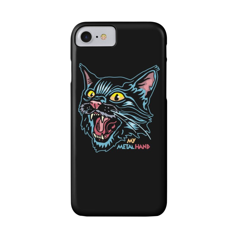 Angry Cat MMH Accessories Phone Case by My Metal Hand Artist Shop