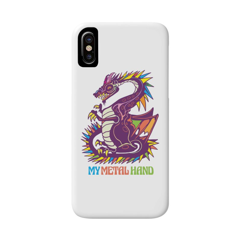 Dragon MMH Accessories Phone Case by My Metal Hand Artist Shop