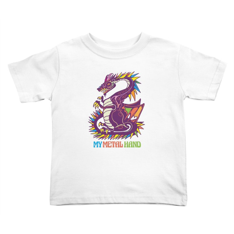 Dragon MMH Kids Toddler T-Shirt by My Metal Hand Artist Shop