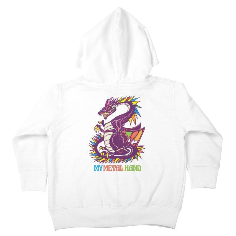 Dragon MMH Kids Toddler Zip-Up Hoody by My Metal Hand Artist Shop