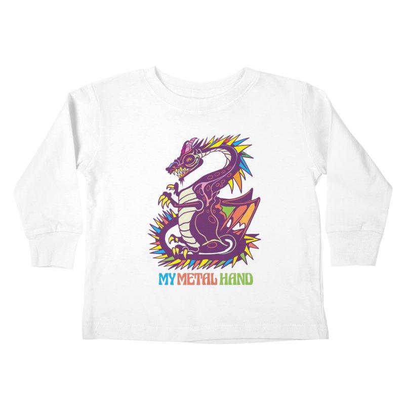 Dragon MMH Kids Toddler Longsleeve T-Shirt by My Metal Hand Artist Shop