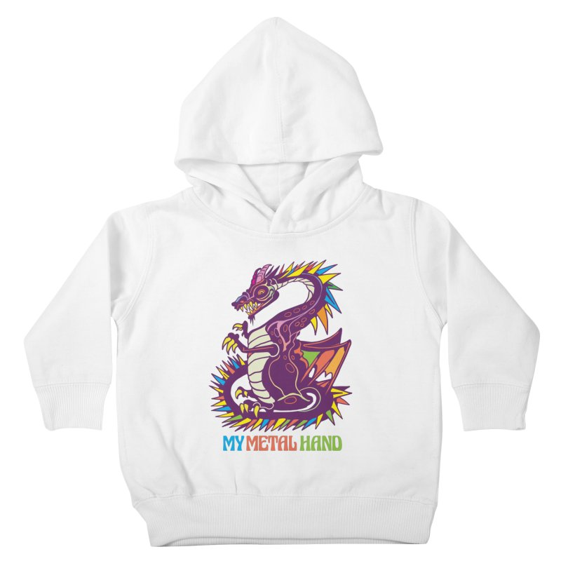 Dragon MMH Kids Toddler Pullover Hoody by My Metal Hand Artist Shop