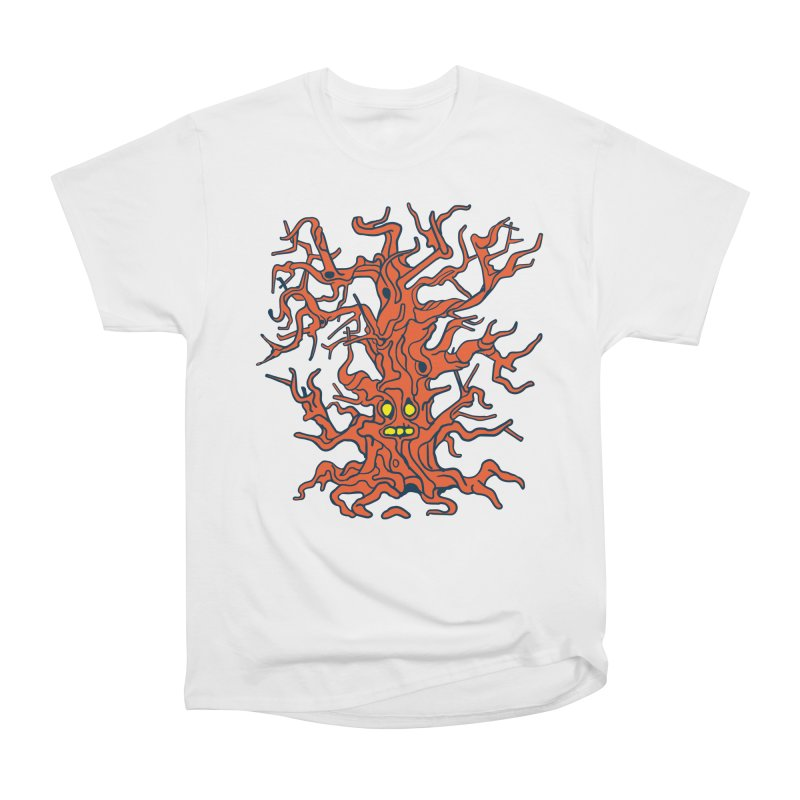 Spirit Tree Men's Heavyweight T-Shirt by My Metal Hand Artist Shop