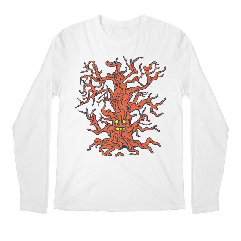 Spirit Tree Men's Regular Longsleeve T-Shirt by My Metal Hand Artist Shop