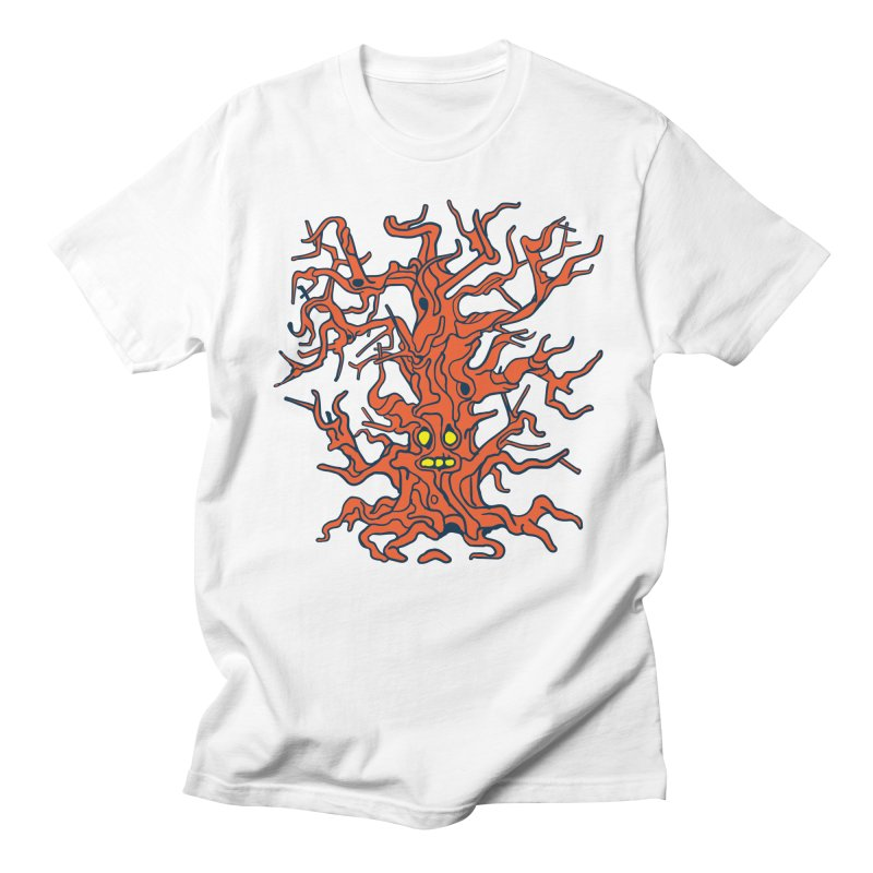Spirit Tree Women's Regular Unisex T-Shirt by My Metal Hand Artist Shop