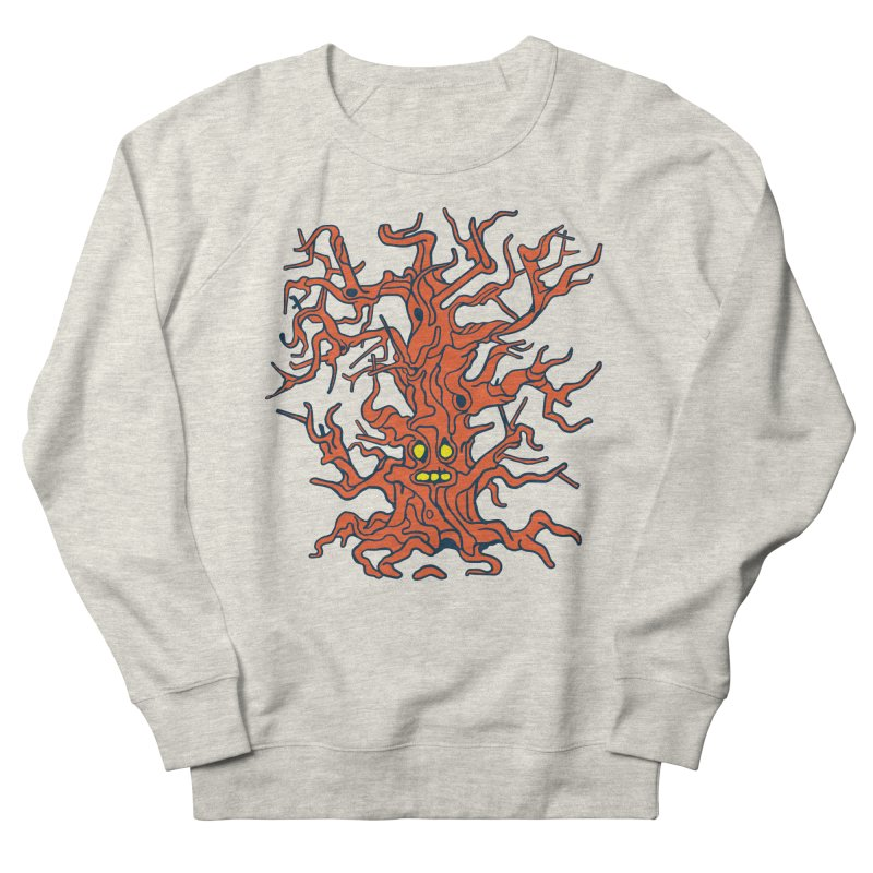 Spirit Tree Men's French Terry Sweatshirt by My Metal Hand Artist Shop