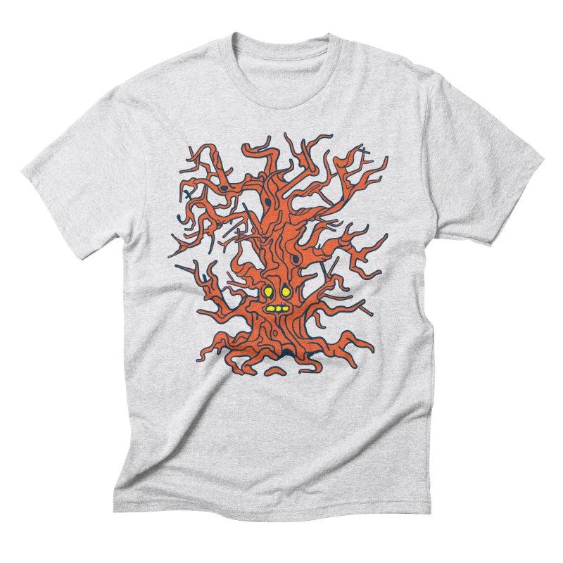 Spirit Tree Men's Triblend T-Shirt by My Metal Hand Artist Shop